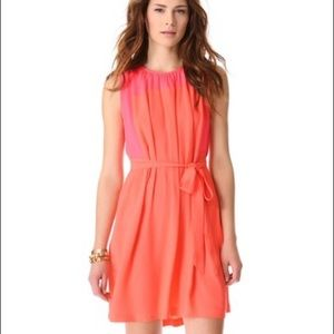 📚Madewell Coral Bungalow Dress